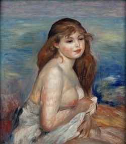 """Auguste Renoir """"Badende"""" 54 x 60 cm"""