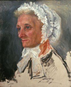 """Auguste Renoir """"Bildnis der Mutter"""" 38 x 45 cm"""