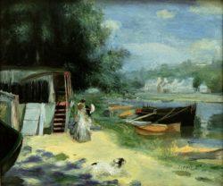 "Auguste Renoir ""La Grenouill ere"" 57 x 49 cm"
