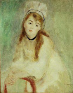 """Auguste Renoir """"Bildnis einer jungen Frau"""" 26 x 30 cm"""