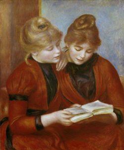 """Auguste Renoir """"Die beiden Schwestern"""" 54 x 64 cm"""