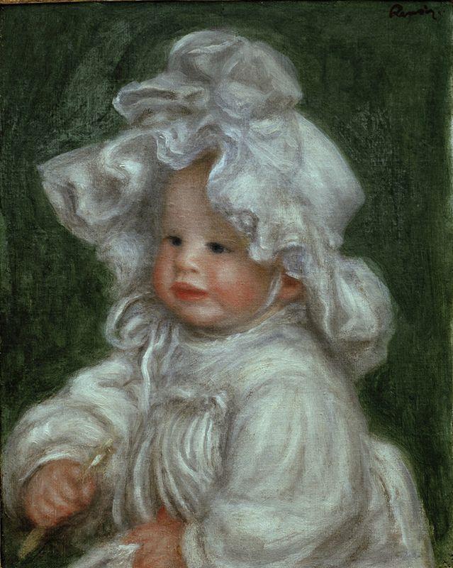 "Auguste Renoir ""Bildnis Claude Renoir"" 32 x 41 cm"