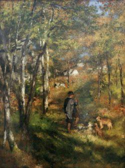 """Auguste Renoir """"Der Maler Jules Le Coeur"""" 80 x 106 cm"""