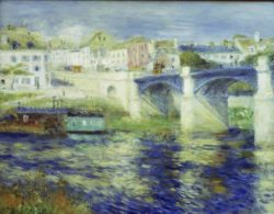"Auguste Renoir ""Brücke von Chatou"" 65 x 51 cm"