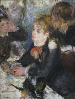 """Auguste Renoir """"Bei der Modistin """" 24 x 32 cm"""