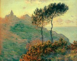 """Claude Monet """"Die Kirche von Varengeville"""" 81 x 65 cm"""