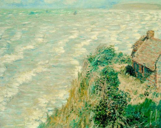"""Claude Monet """"Flut bei Pourville"""" 81 x 65 cm 1"""
