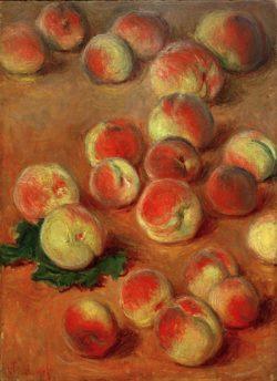 """Claude Monet """"Pfirsiche"""" 37 x 50 cm"""