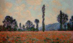"""Claude Monet """"Mohnfeld"""" 100 x 59 cm"""