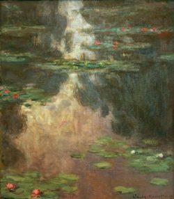 "Claude Monet ""Nympheas -Seerosen"" 81 x 92 cm"
