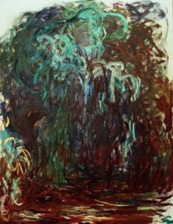 """Claude Monet """"Die Trauerweide"""" 89 x 116 cm"""