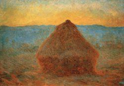"""Claude Monet """"Der Heuhafen"""" 92 x 65 cm"""