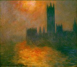 """Claude Monet """"Parlament in London"""" 92 x 81 cm"""