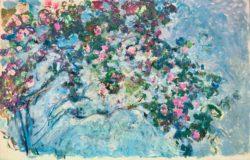 """Claude Monet """"Der Rosenstrauch"""" 200 x 130 cm"""