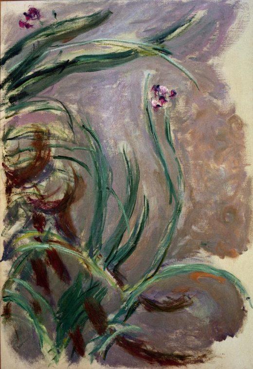 "Claude Monet ""Iris -Schwertlilien"" 73 x 105 cm 1"