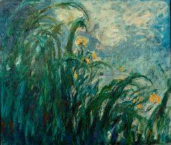 """Claude Monet """"Gelbe Schwertlilien"""" 152 x 130 cm"""