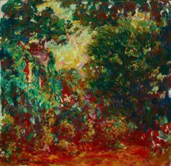 """Claude Monet """"Das Haus des Künstlers"""" 92 x 89 cm"""