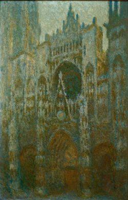 """Claude Monet """"Die Kathedrale von Rouen"""" 65 x 100 cm"""
