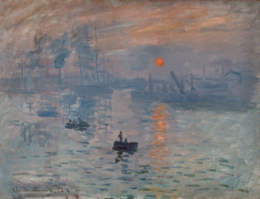 "Claude Monet ""Sonnenaufgang"" 63 x 48 cm 1"