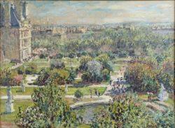 """Claude Monet """"Die Tuilerien"""" 73 x 54 cm"""