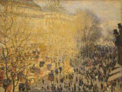 """Claude Monet """"Boulevard des Capucines in Paris"""" 80 x 61 cm"""