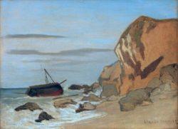 """Claude Monet """"Steilküste"""" 80 x 25 cm"""