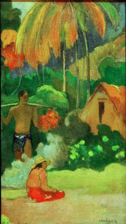 """Paul Gauguin """"Der Tag der Wahrheit II""""  31 x 45 cm"""