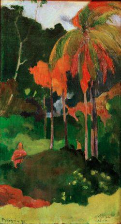 """Paul Gauguin """"Der Tag der Wahrheit I""""  30 x 53 cm"""