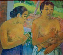 "Paul Gauguin ""Das Opfer""  78 x 68 cm"