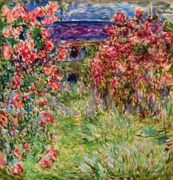 """Claude Monet """"Das Haus in den Rosen"""" 89 x 92 cm"""
