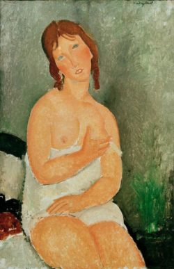 "Amedeo Modigliani ""Jeune femme assise"" 100 x 65""cm"