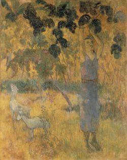 """Paul Gauguin """"Die Ernte""""  73 x 93 cm"""