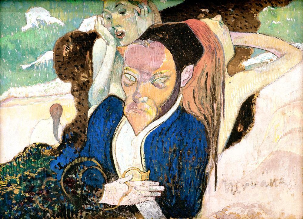 """Paul Gauguin """"Nirwana""""  29 x 20 cm"""