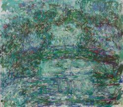 """Claude Monet """"Die japanische Brücke"""" 92 x 80 cm"""