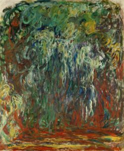 "Claude Monet ""Trauerweide in Giverny"" 100 x 120 cm"