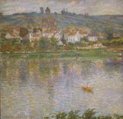 """Claude Monet """"Die Stadt Vetheuil"""" 92 x 90 cm"""