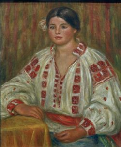 """Auguste Renoir """"Die bulgarische Bluse"""" 54 x 65 cm"""