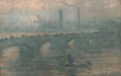 "Claude Monet ""Die Themsebrücke in London"" 100 x 65 cm"