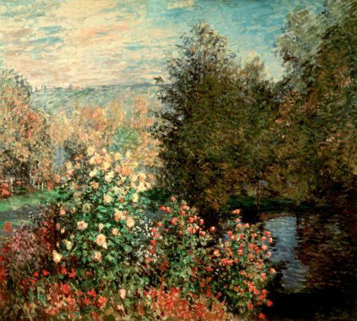 """Claude Monet """"Gartenwinkel in Montgeron"""" 193 x 172 cm 1"""
