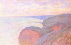 """Claude Monet """"Auf der Steilküste bei Dieppe"""" 100 x 65 cm"""