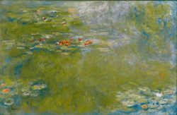"Claude Monet ""Nympheas -Seerosen"" 200 x 130 cm"