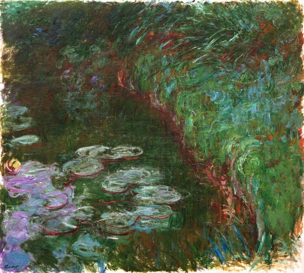 "Claude Monet ""Nympheas -Seerosen"" 205 x 180 cm"