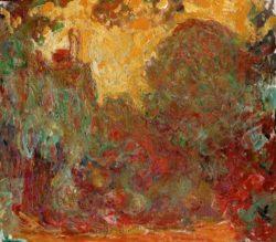 """Claude Monet """"Das Haus des Künstlers"""" 90 x 80 cm"""