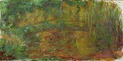 """Claude Monet """"Die japanische Brücke"""" 200 x 100 cm"""