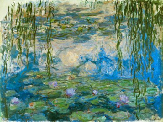 "Claude Monet ""Nympheas -Seerosen"" 200 x 150 cm 1"