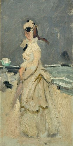 "Claude Monet ""Camille am Strand"" 15 x 30 cm"