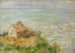 "Claude Monet ""Hütte der Zollwärter am Nachmittag"" 81 x 58 cm"