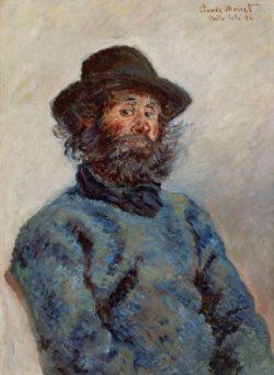 """Claude Monet """"Portrait de Poly"""" 53 x 81 cm"""