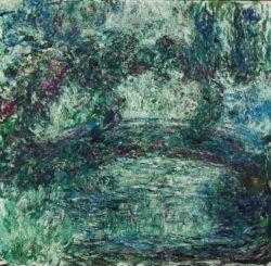 """Claude Monet """"Die Japanische Brücke"""" 90 x 87 cm"""