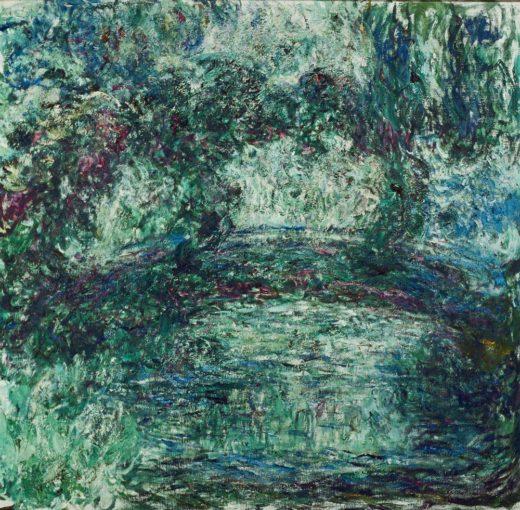 """Claude Monet """"Die Japanische Brücke"""" 90 x 87 cm 1"""